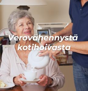 Verovähennystä kotihoivasta - kotitalousvähennys